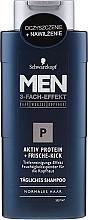 Parfums et Produits cosmétiques Shampooing quotidien - Schwarzkopf Men Aktiv Protein Shampoo