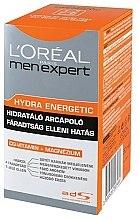 Parfums et Produits cosmétiques Soin anti-fatigue à l'extrait de menthe poivrée pour visage - L'Oreal Paris Men's Expert Hydra-Energetic
