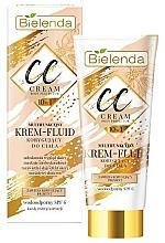 Parfums et Produits cosmétiques Bielenda Magic CC 10in1 Body Correction Cream Waterproof Tanning Effect SPF6 - CC crème-fluide pour corps