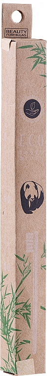 Brosse à dents en bambou - Beauty Formulas Eco Friendly Bamboo Tooth Brush