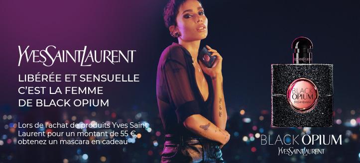 Lors de l'achat de produits Yves Saint Laurent pour un montant de 55 €, obtenez un mascara Im The Clash en cadeau