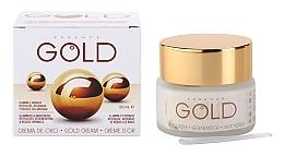 Parfums et Produits cosmétiques Crème d'or au beurre de karité pour visage - Diet Esthetic Gold Cream SPF15