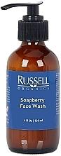 Parfums et Produits cosmétiques Gel nettoyant à l'aloe vera pour visage - Russell Organics Soapberry Face Wash Gentle Cleanser