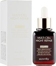 Parfums et Produits cosmétiques Sérum de nuit à l'extrait de raisin pour visage - Secret Key Multi Cell Night Repair Ampoule