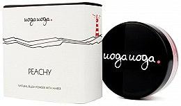 Parfums et Produits cosmétiques Blush naturel enrichi à la poudre d'ambre - Uoga Uoga Natural Blush Powder With Amber