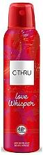 Parfums et Produits cosmétiques C-Thru Love Whisper - Déodorant spray pour corps