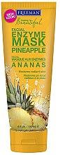 Parfums et Produits cosmétiques Masque aux enzymes d'ananas pour visage - Freeman Feeling Beautiful Pineapple Enzyme Mask