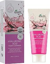 Parfums et Produits cosmétiques Mousse nettoyante à l'acide hyaluronique pour visage - Ekel Hyaluronic Acid Foam Cleanser