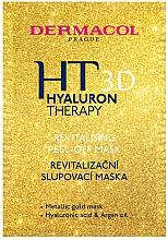 Parfums et Produits cosmétiques Masque peel-off à l'huile d'argan pour visage - Dermacol Hyaluron Therapy 3D Revitalising Peel-off Mask