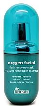Parfums et Produits cosmétiques Masque à l'extrait de moringa pour visage - Dr. Brandt House Calls Oxygen Facial Mask