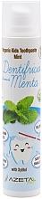 Parfums et Produits cosmétiques Dentifrice bio pour enfants, Menthe - Azeta Bio Organic Kids Toothpaste Mint