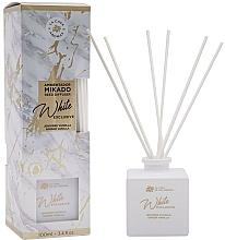 Parfums et Produits cosmétiques Bâtonnets parfumés Gingembre et Vanille - La Casa de los Aromas Mikado Exclusive White