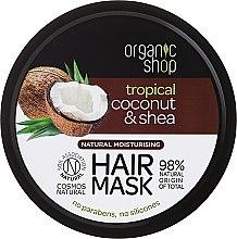 Parfums et Produits cosmétiques Masque à la noix de coco et beurre de karité pour cheveux - Organic Shop Coconut & Shea Moisturising Hair Mask