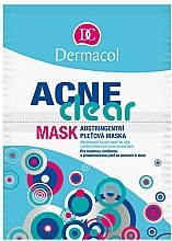 Parfums et Produits cosmétiques Masque à l'argile et sel de zinc pour visage et décolleté - Dermacol Acne Clear Mask