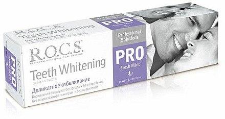 Dentifrice blanchissant - R.O.C.S. PRO Fresh Mint — Photo N1