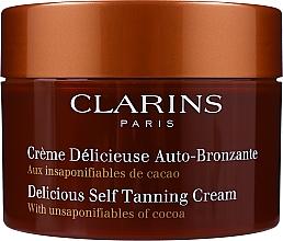 Parfums et Produits cosmétiques Crème délicieuse auto-bronzante - Clarins Delicious Self Tanning Cream