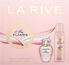 Parfums et Produits cosmétiques La Rive In Flames - Coffret (eau de parfum/90ml + déodorant/150ml)