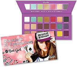 Parfums et Produits cosmétiques Palette de fards à paupières - Rude Blackjack Eyeshadow Palette