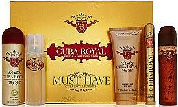 Parfums et Produits cosmétiques Cuba Royal Must Have - Set