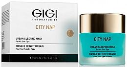 Parfums et Produits cosmétiques Masque de nuit à l'extrait de gingembre - Gigi City Nap Urban Sleeping Mask