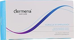 Parfums et Produits cosmétiques Soin en ampoules à l'extrait de rose pour cheveux - Dermena Hair Care Ampoules Against Hair Loss