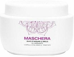 Parfums et Produits cosmétiques Masque à l'huile d'argan et miel pour cheveux - Renee Blanche