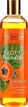 Parfums et Produits cosmétiques Huile de bain et douche, Papaye - Bielenda Exotic Paradise Bath & Shower Oil