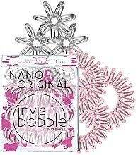 Parfums et Produits cosmétiques Élastiques à cheveux, 6pcs. - Invisibobble Nano & Original Bee Mine