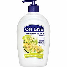 Parfums et Produits cosmétiques Savon liquide crémeux au tilleul et thé blanc - On Line Liquid Soap