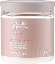 Parfums et Produits cosmétiques Masque à la kératine pour cheveux - Alfaparf Lisse Design Keratin Therapy Rehydrating Mask