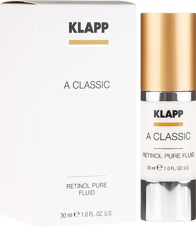 Fluide au rétinol pour visage - Klapp A Classic Retinol Pure Serum