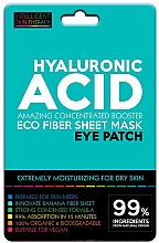 Parfums et Produits cosmétiques Patchs hydratants à l'acide hyaluronique pour contour des yeux - Beauty Face IST Hyaluronic Acid Eco Fiber Eye Patch