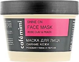 """Masque pour visage """"Éclat de la peau"""" - Cafe Mimi Face Mask — Photo N2"""