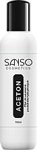 Parfums et Produits cosmétiques Acétone cosmétique pour vernis hybride - Sanso Cosmetics Aceton