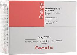 Parfums et Produits cosmétiques Lotion en ampoules à l'extrait de romarin pour cheveux - Fanola Energy Anti Hair Loss Lotion