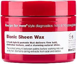 Parfums et Produits cosmétiques Cire coiffante à l'extrait de baies d'açaï - Recipe for Men Bionic Sheen Wax