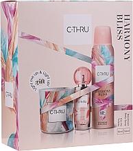 Parfums et Produits cosmétiques C-Thru Harmony Bliss - Set (déodorant/150ml + edt/30ml + bougie/1pcs)