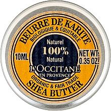 Parfums et Produits cosmétiques Beurre de karité pur pour corps (mini) - L'occitane Organic Pure Shea Butter