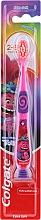 Parfums et Produits cosmétiques Brosse à dents pour enfants de 2 à 6 ans Trolls, extra-souple, rose-violet - Colgate Smiles Kids Extra Soft