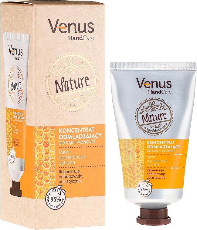 Crème au miel pour mains et ongles - Venus Nature