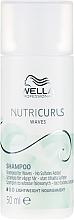 Parfums et Produits cosmétiques Shampooing sans sulfate pour cheveux bouclés - Wella Professionals Nutricurls Waves Shampoo (mini)