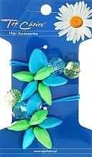 Parfums et Produits cosmétiques Elastiques cheveux, fleurs et cristaux, 21497 - Top Choice
