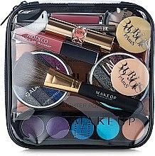 Parfums et Produits cosmétiques Trousse de toilette transparente Visible Bag, 17x17x6cm (sans contenu) - MakeUp