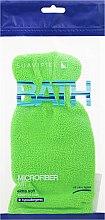 Parfums et Produits cosmétiques Gant de bain, vert clair - Suavipiel Bath Micro Fiber Mitt Extra Soft