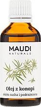 Parfums et Produits cosmétiques Huile de chanvre pour peaux sèches et sensibles - Maudi