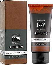 Parfums et Produits cosmétiques Exfoliant à l'argile pour visage - American Crew Acumen Clay Exfoliating Cleanser