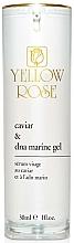 Parfums et Produits cosmétiques Sérum à l'extrait de caviar et ADN marin pour visage - Yellow Rose Caviar & Marine DNA Gel