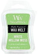 Parfums et Produits cosmétiques Cire parfumée pour lampe aromatique - WoodWick Wax Melt White Willow Moss