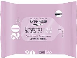 Parfums et Produits cosmétiques Lingettes démaquillantes aux protéines de lait - Byphasse Make-up Remover Milk Proteins All Skin Wipes