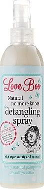Spray démêlant à l'huile d'argan, figue et noix de coco - Love Boo Natural No More Knots — Photo N1